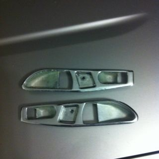 Mercedes Benz W107 280 350 380 450 560 SL SLC Door Panel Chrome Trim