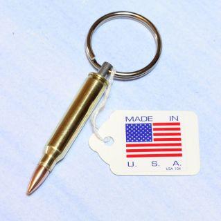 Bullet Keychain 223 Remington 5 56 NATO Full Metal Jacket