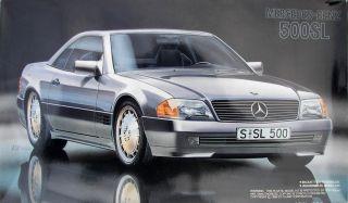 Fujimi Vintage Mercedes Benz 500 SL Coupe
