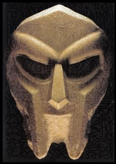 MF DOOM Madvilain HALLOWEEN MASK Born Like This Promotional LEX Pop