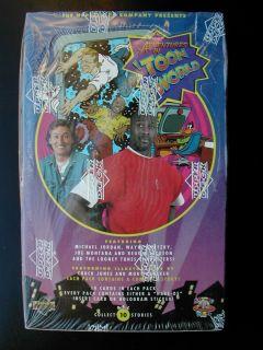 Deck Toon World Sealed Box Michael Jordan Looney Tunes Wayne Gretzky