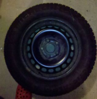 Michelin Arctic Alpin Tires 195 65 R15 with 5 Hole Steel Wheels