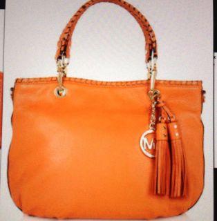 Michael Kors Bennet Tote Bag in Orange