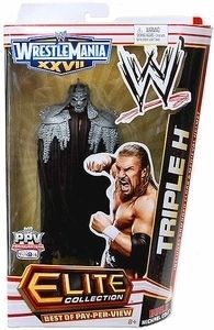 Triple H Elite Wrestlemania 27 Boppv Figure Michael Cole New