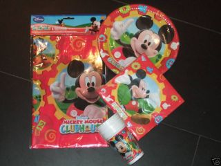 Mickey Mouse Clubhouse Birthday Party Pack Kit Set B