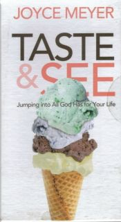 New Taste See Audiobook by Joyce Meyer 4 CD Set