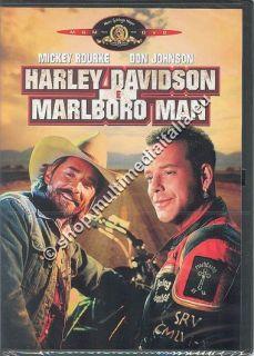 Harley Davidson E Marlboro Man Mickey Rourke DVD Nuovo 8010312044885