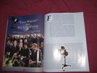 Under Funeral Home Magazine Michael C Hall HBO Season DVD Peer