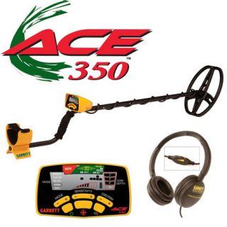 Garrett Ace 350 Metal Detector w Free Garrett ExtraS
