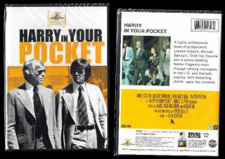 Pocket New SEALED Official DVD James Coburn Michael Sarrazin