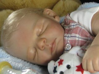 Reborn Baby Ryan Peach Doll Kit by Michelle Fagan 4450