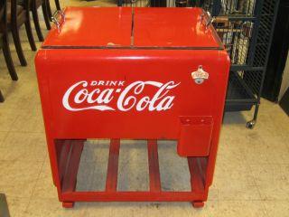Vintage Coca Cola Cooler Drink Coca Cola