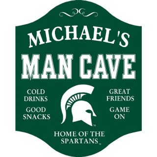 Personalized Official Michigan State Spartans Collegiate Man Cave