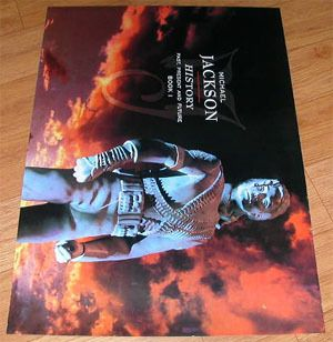 Michael Jackson History Limited RARE Poster