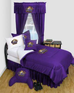 LSU Tigers Louisana State Twin Full Queen Comforter Bedroom Sets Free