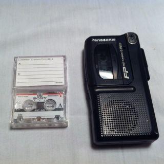 Panasonic RN 202 Handheld Micro Cassette Recorder