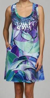 New Argenti Geometric Sleeveless Tank Sequin Dress 14