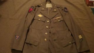WWII Army Air Corps CBI China Burma India Dress Jacket w theater made
