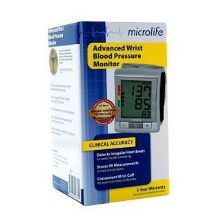 Microlife Advanced Wrist Blood Pressure Monitor Model BP3MY1 3E