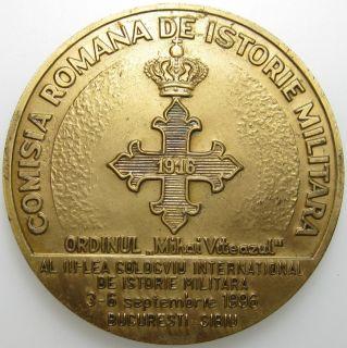 Romania 1916 1996 WW1 Mihai Viteazul Order Medal