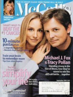 Michael J Fox Tracy Pollan Goldie Hawn 1999 McCalls D5