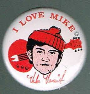 Mike Nesmith Monkees Pin Pinback Button D28