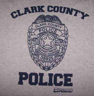 Superbad Clark County Police Michael Cera T Shirt