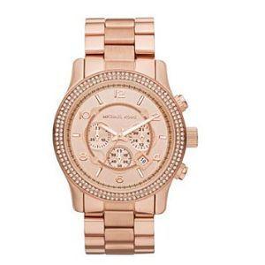 Michael Kors_*ROSE GOLD* Large Runway Double Glitz Watch *BRAND NEW