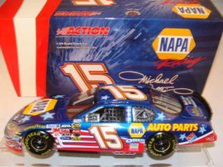 15 Michael Waltrip 2004 Napa Auto Parts Stars Stripes