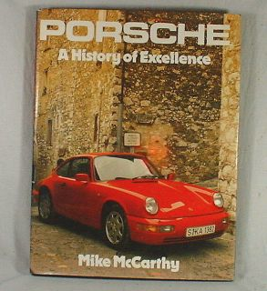 History of Excellence  by Mike McCarthy table top hard cover book