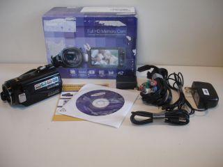 Samsung HMX H200 Full High Definition Camcorder Retail Box