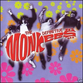 Monkees Definitive CD Davy Jones Mike Nesmith Greatest Hits 60s New