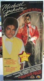 1984 Michael Jackson Doll LJN MJJ NIB Free US SHIP Beat It Outfit Free