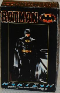 Batman Horizon Model Kit Michael Keaton as Batman