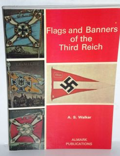 MILITARY BOOK, WW2, Almark Pub, Flags & Banners of the Third Reich, op
