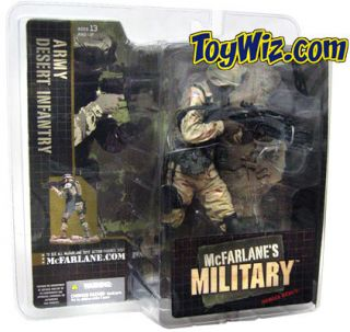 McFarlane Military Soldiers US Army Desert Infantry