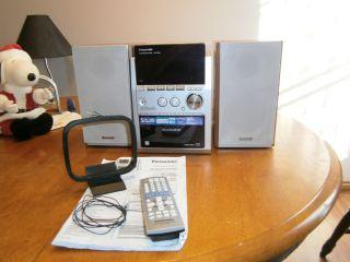 Panasonic SC PM53 (SA PM53 & SB PM53) Micro Stereo System W 5 Disc CD