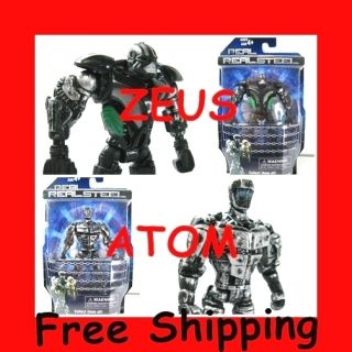 Real Steel figures Atom Zeus Twin Cities Midas Noisy Boy Free Shipping