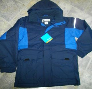 Columbia Pop Shove It BOYS Winter COAT SKI JACKET XL 18 20 Navy Blue
