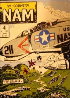 In Country Nam Comic Book War Vietnam Military USA Small Unit Combat