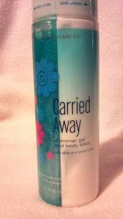 Bath Body Works Carried Away Shimmer Gel and Body Lotion 6 7 Oz