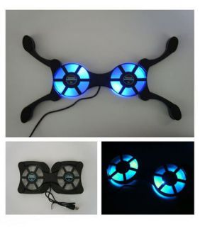Microsoft Xbox Xbox 360 Cooling Stand Pad With Ultra Blue LED Vortex