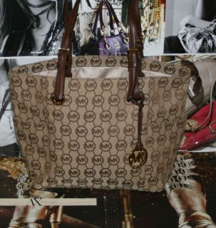 Michael Michael Kors Jet Set Item East West Signature Tote Bag $168