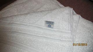 1888 Mills Large Thick White Bath Spa Pool Towels 58 x 28