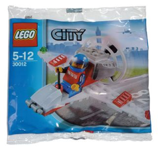 New Lego City Mini Airplane 30012 Hover Airplane 673419153188