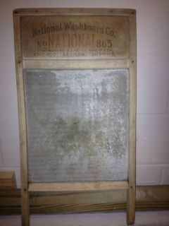 National Washboard 865 Great Primitive Piece Christmas Gift