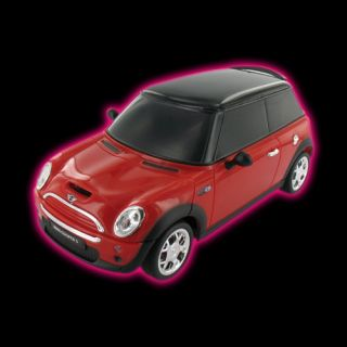 Beewi Mini Cooper Bluetooth iPhone iPad Remote Control Car Toy Red