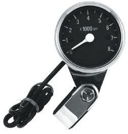 Custom Chrome Tachometer for Motorcycle Honda Shadow Ace Aero Kawasaki