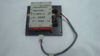 Aydin Microwave RF Power AMA Solid State Amplifier SMA