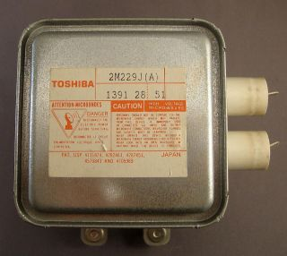Toshiba 2M229J A Microwave Oven Magnetron